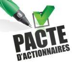 pacte d'actionnaires